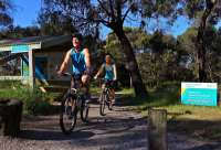Enjoy cycling around Phillip Island and visit some of the historic landmarks.
